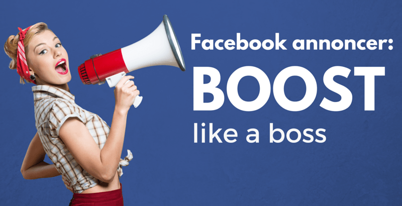 Facebook annoncer: 3 måder at booste like a boss