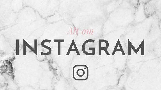 Blog om markedsføring på Instagram