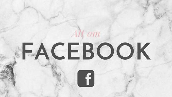 Blog om annoncering på Facebook