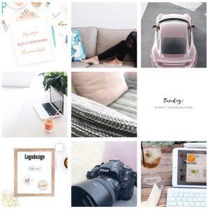 birkablog, inviterer dig ind i sit feminine grafiske univers på Instagram