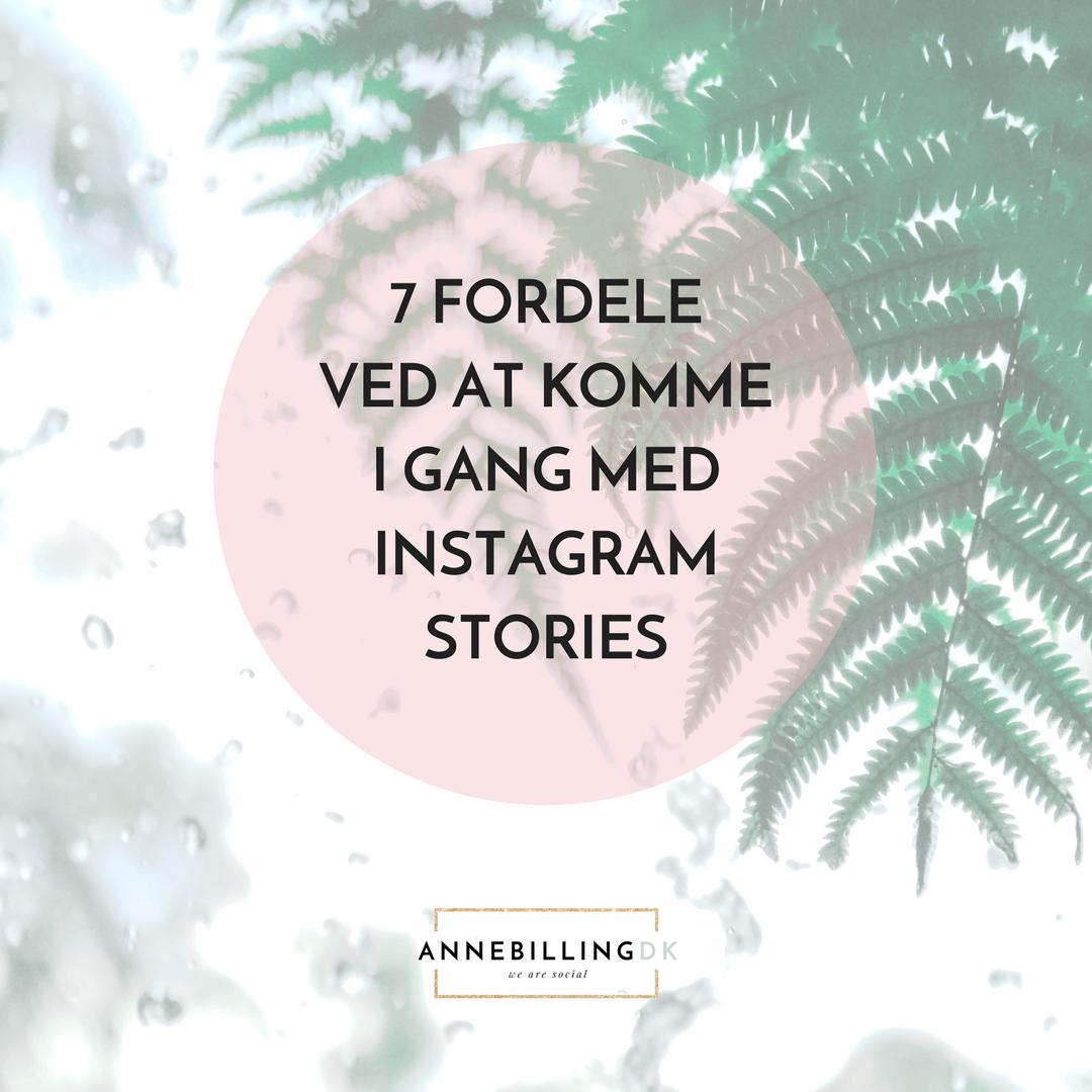 Kunne du tænke dig at blive klogere på Instagram Stories?