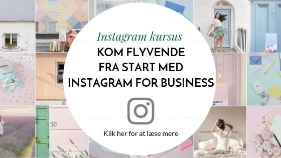 Instagram kursus for virksomheder