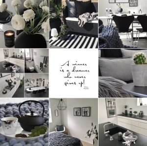 Jane Freibergs sort-hvide æstetiske univers på Instagram