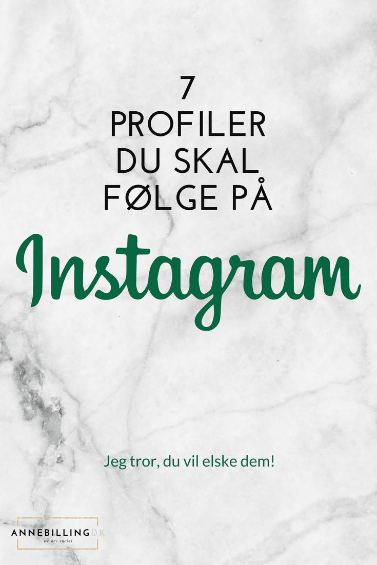 Mine foretrukne Instagram-konti i 2018! Syv Instagram feeds fyldt med inspiration, kreativitet og æstetik. Jeg tror, du vil elske dem! #Instagram #SmallBusiness #Marketing #Instagramtips #SocialMedia #Instagramfollowers #Entrepreneur