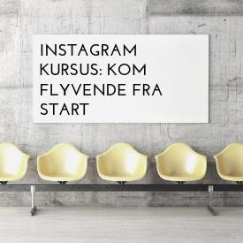 Instagram kursus for selvstændige