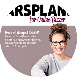 Årsplan for onlinebizzer
