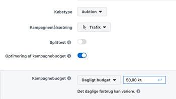 Hvad koster en facebook annonce?