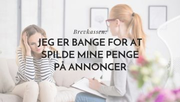 Jeg er bange for at spilde mine annoncekroner